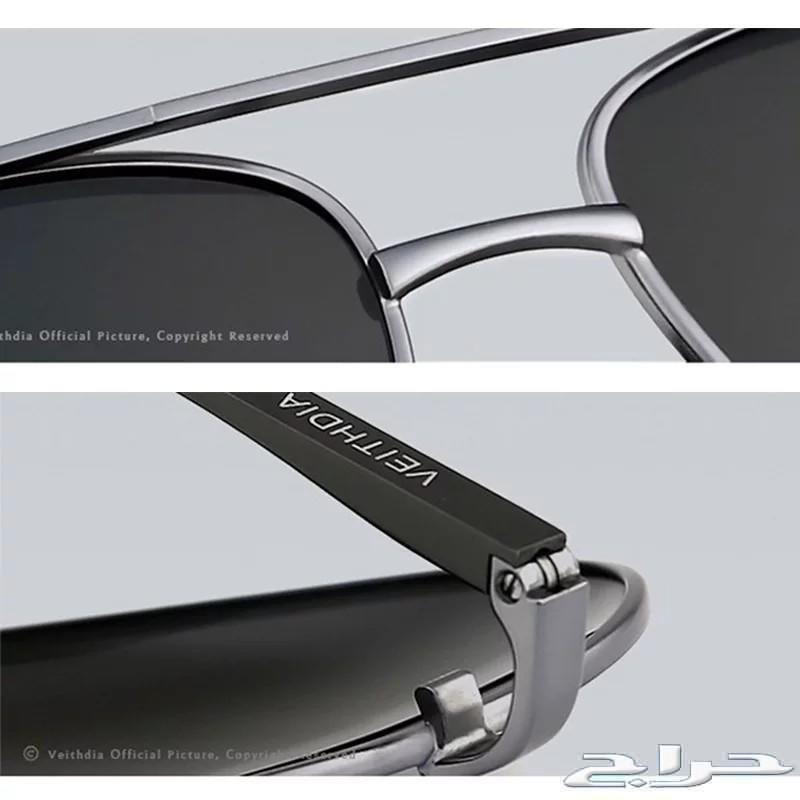نظارة شمسية VEITHDIA بلورايز HD -جودة عالية