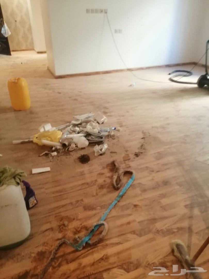 شركة تنظيف شقق فلل خزانات مجالس سجاد رش مبيدا