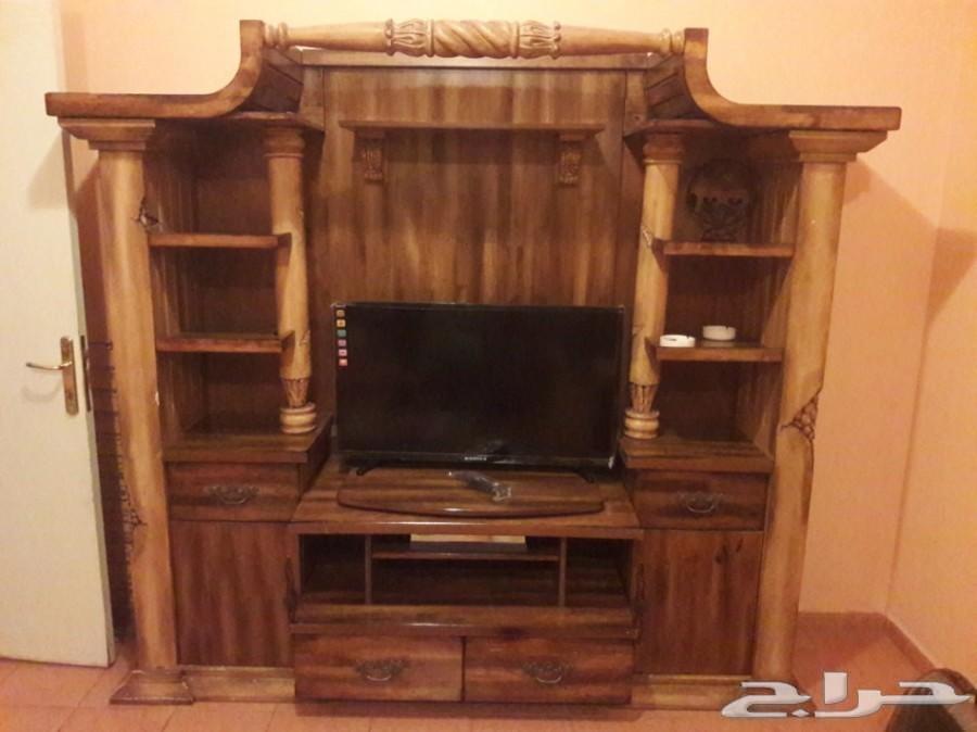 بوفيه تلفزيون .. خشب ممتاز وقوي