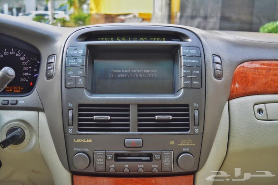 لكزس LS430 الموديل 2004( تم البيع)