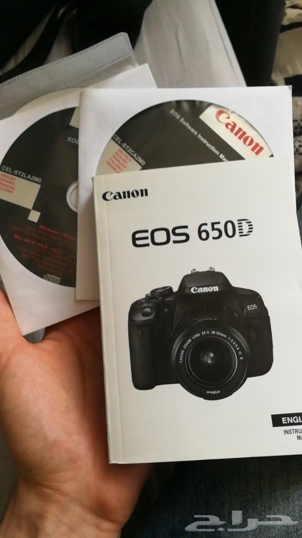 Camera canon كاميرا كانون 650d