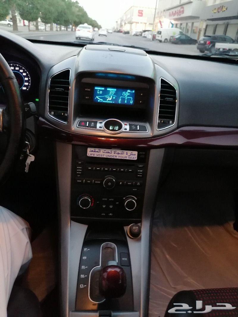 سيارة شيفروليه كابتيفا موديل 2012 _الرياض
