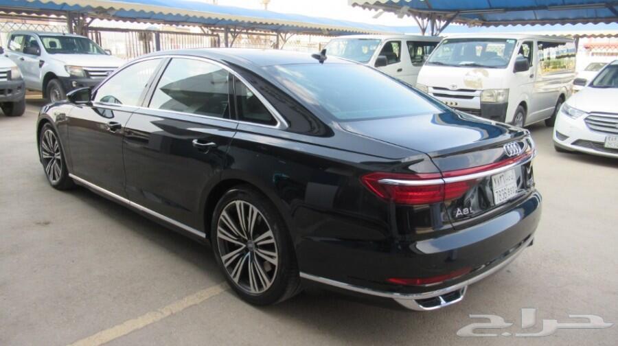 اودي A8L أسود 2018 شركة ذيب - الرياض