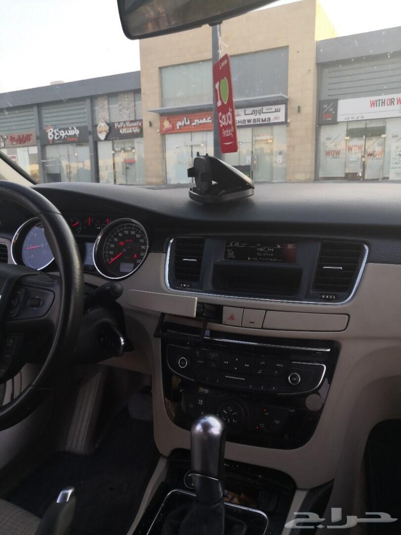 بيجو 508 نظيفة جدآ 2015 مخزنة ممشى قليل تيربو