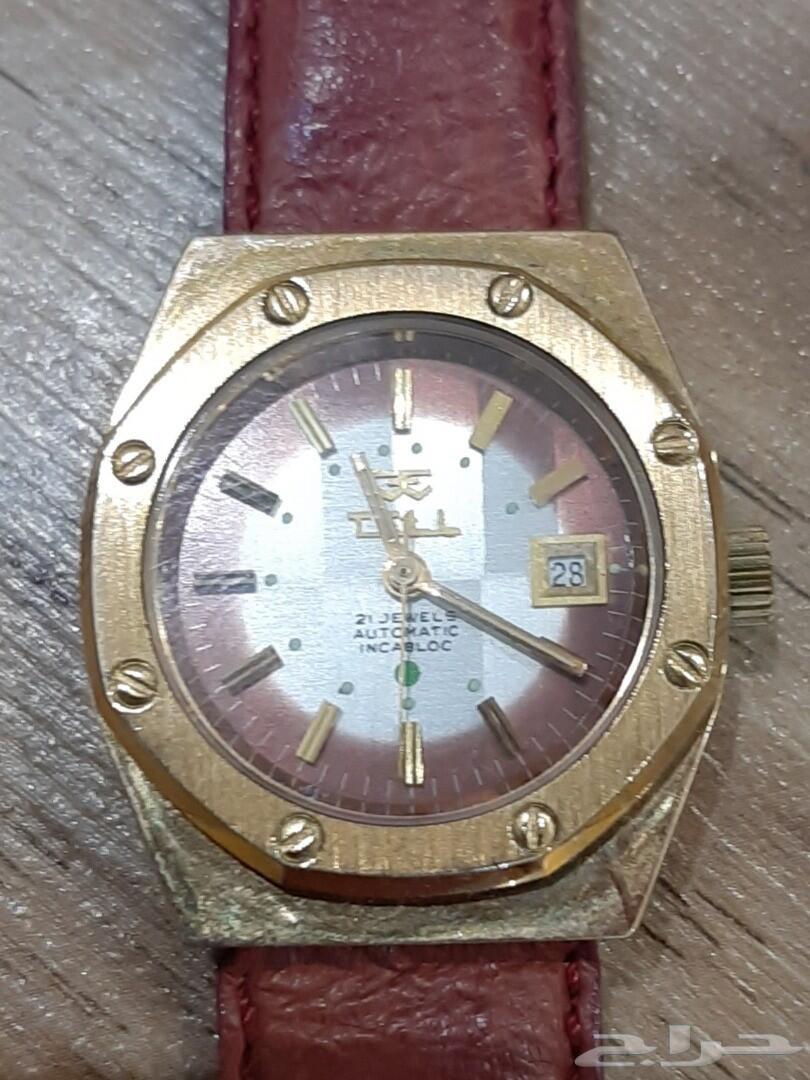 ساعة نسائية سويسرية اوتوماتيك