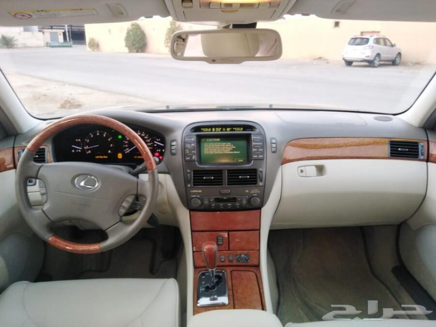 لكزس ال س 430 موديل ( 2004 ) تم البيع