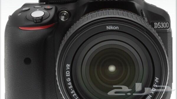 كاميرا نيكون 5300 جديدة