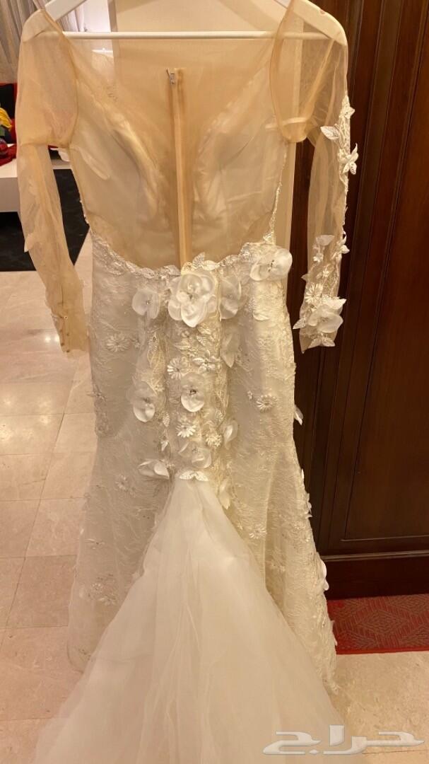 فستان زواج تفصيل في مشغل البدويه