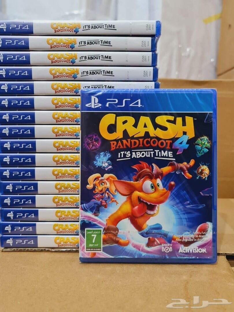 شريط كراش بانديكوت 4 Crash Bandicoot 4