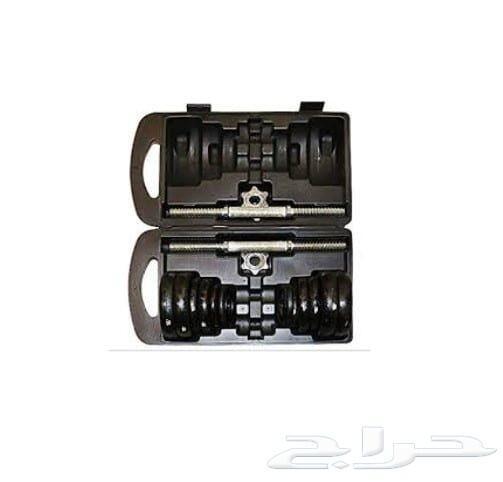 حقيبة أوزان دامبل 20 و50 كغ جديدة وبسعر مميز
