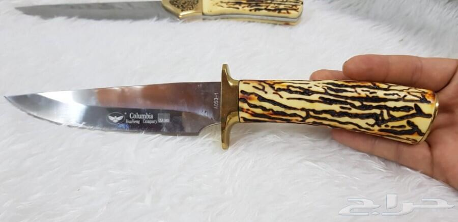 سكاكين كولمبي جديده صناعة امريكي جوده ومتانه
