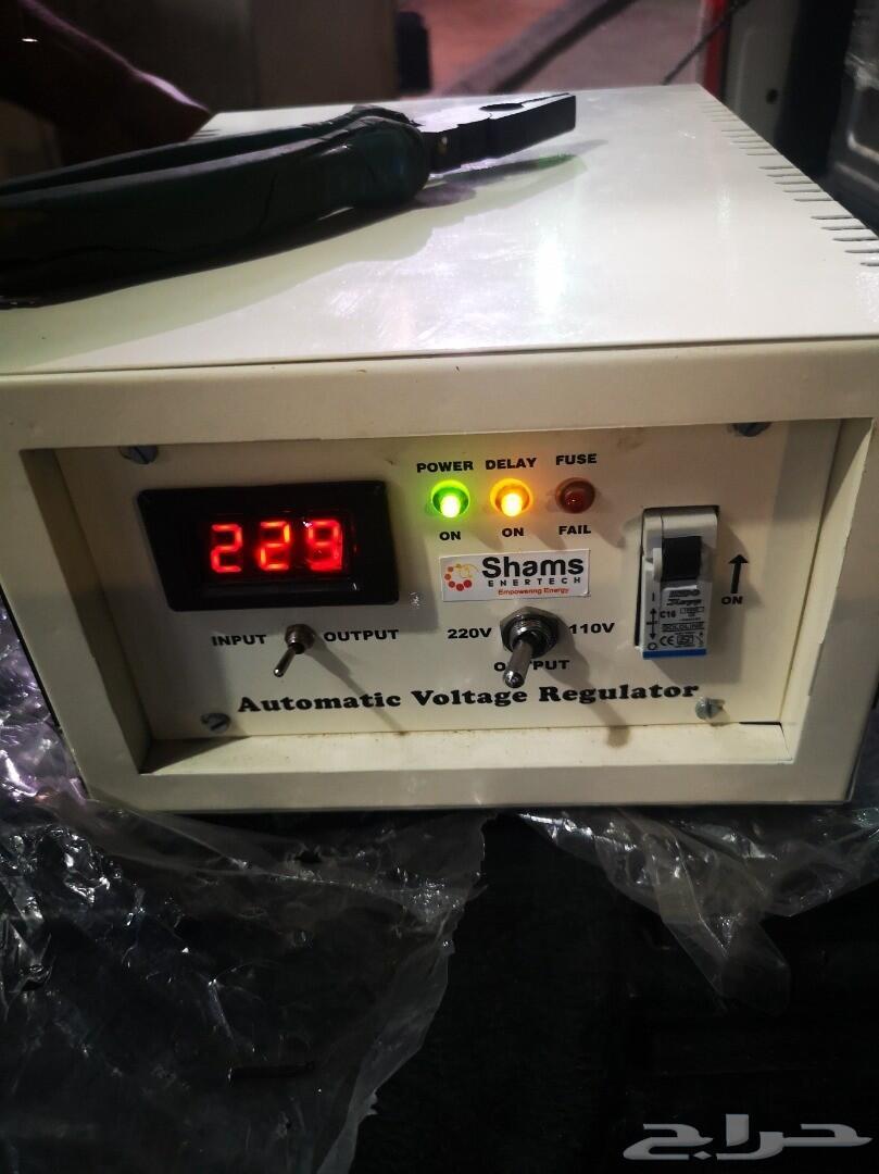 مكنسة  كهربائية شبة جديدة ومحول كهرب