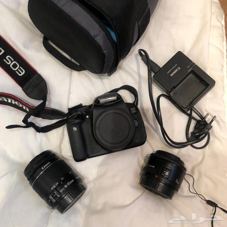 كاميرا canon 650D