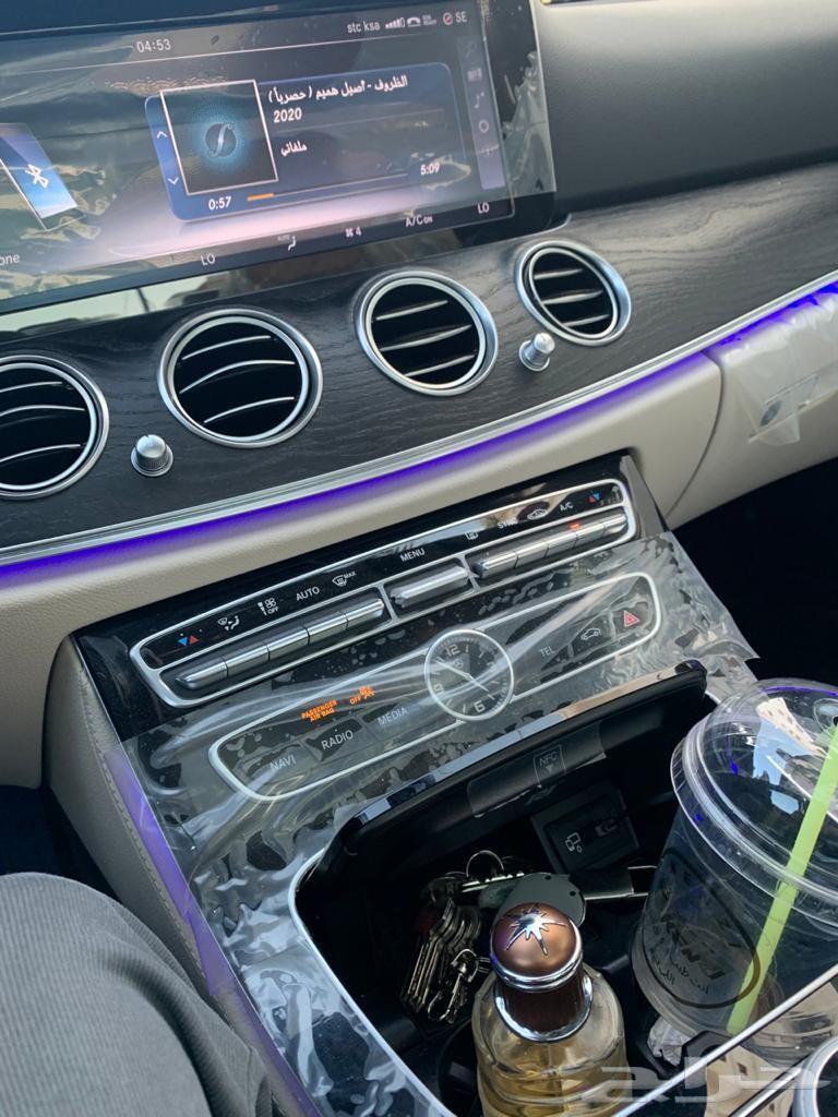 مرسيدس E300 بانوراما 2017 من وكالة مرسدس