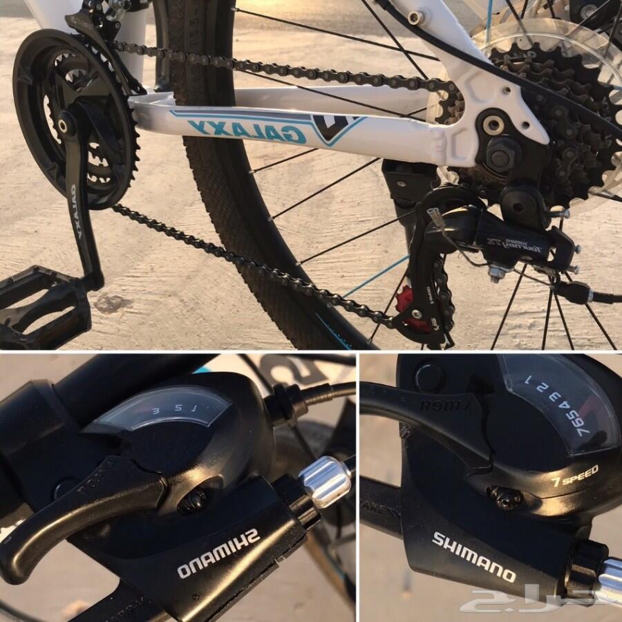 دراجة رياضية المنيوم GALAXY 17