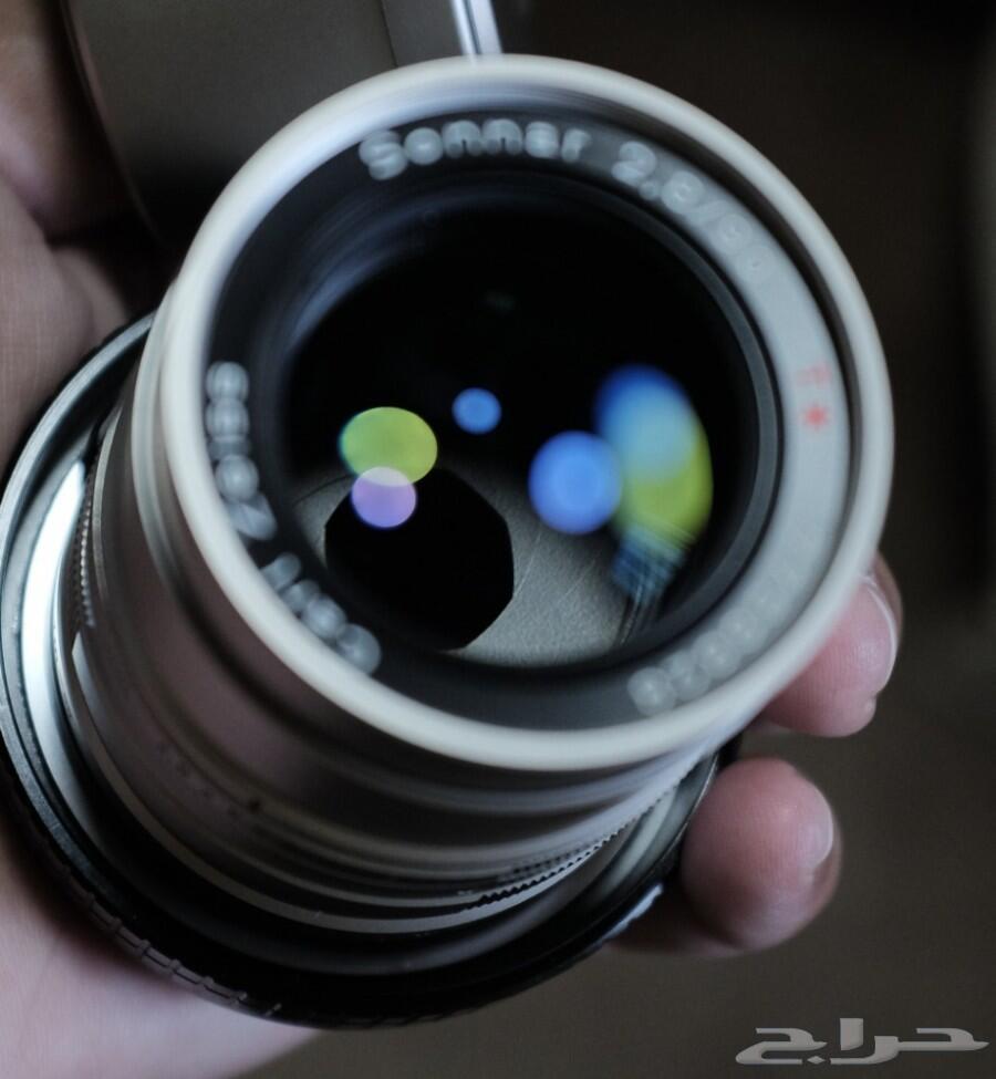عدسات زايس 45mm f2 - 90mm f2.8 للبيع أو البدل