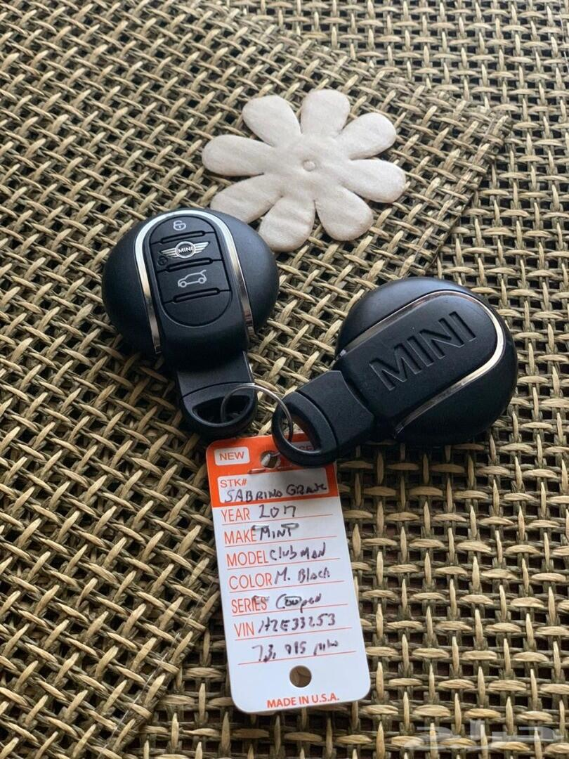 ميني كوبر كلوب مان 2017 بطاقة جمركية