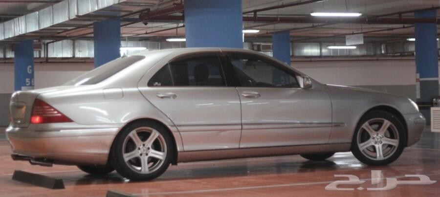 مرسيدس فياجرا w220 s500