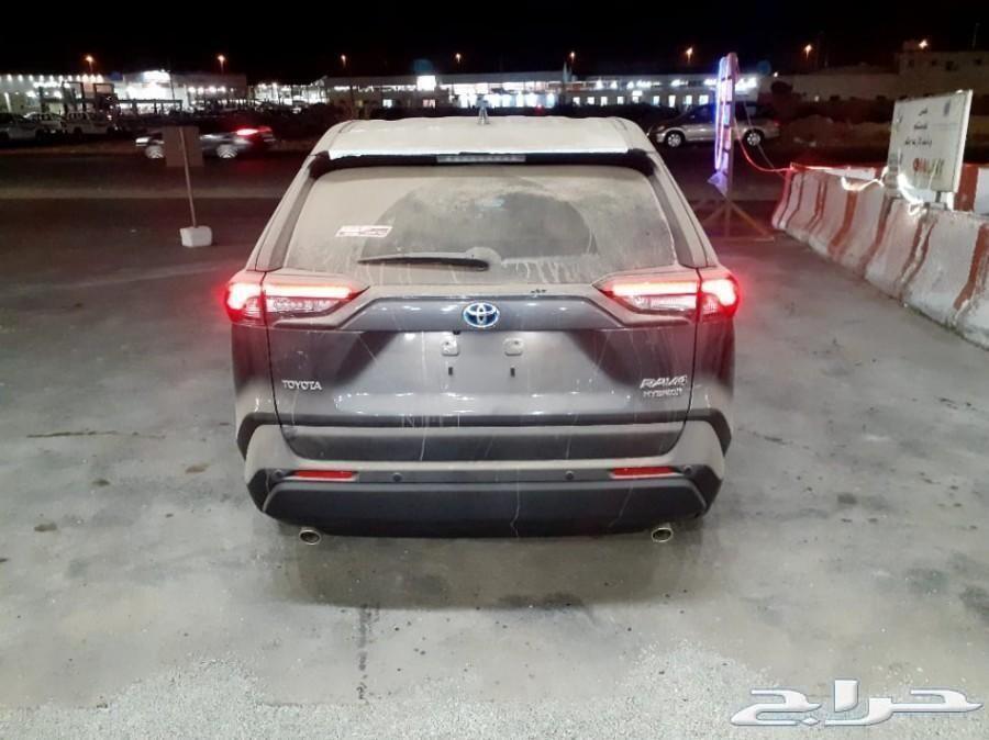تويوتا - راف فور - 4X4 - 2020 اصفار سعودي
