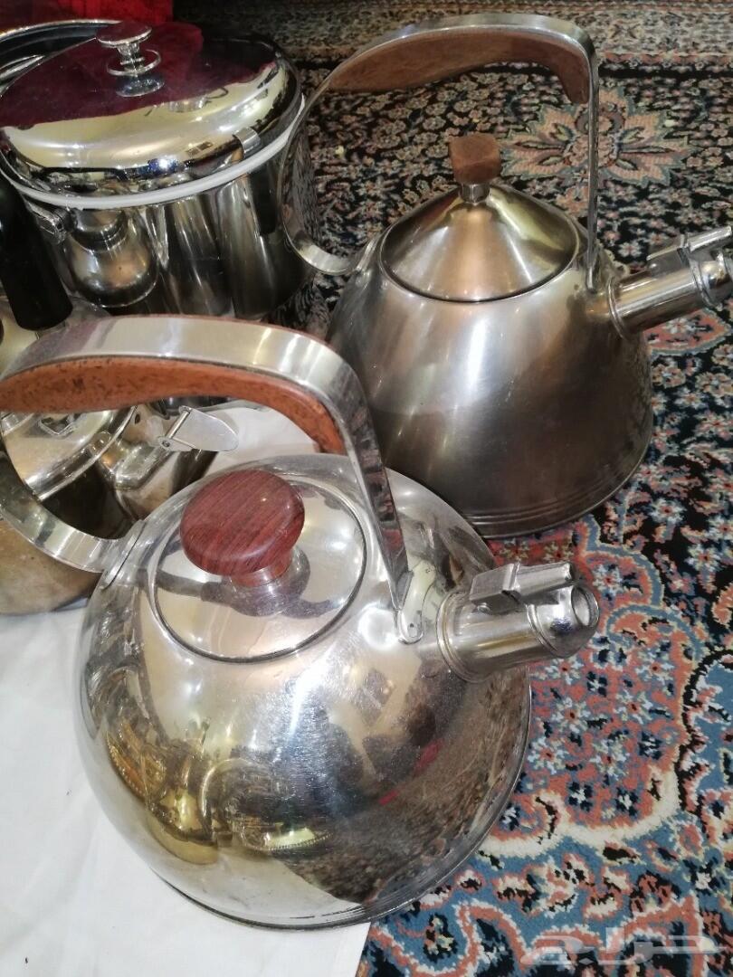 طقم براريد ودلال عساف كوريه واباريق وسكريات