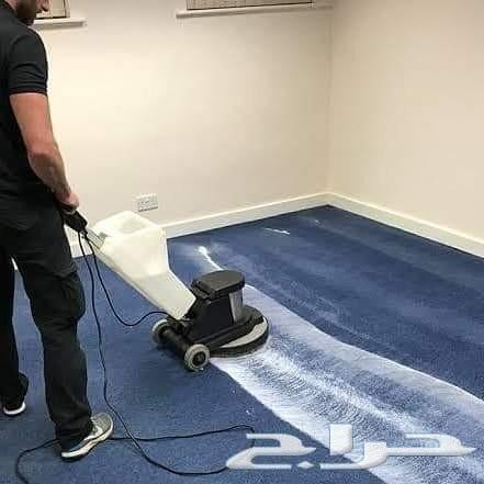 شركة تنظيف شقق خزانات منازل كنب فرشات خيم