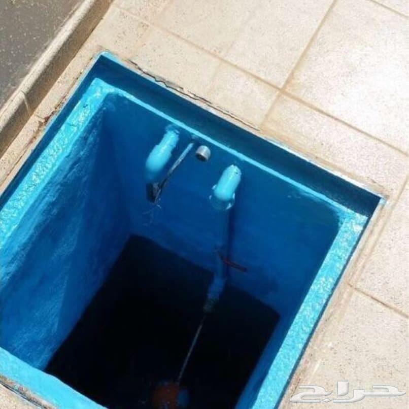 غسيل خزانات مع التعقيم والعزل والضمان