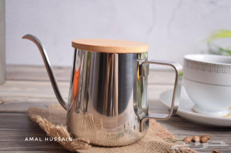 ادوات القهوة المقطرة  كيمكس طاحونة ابريق