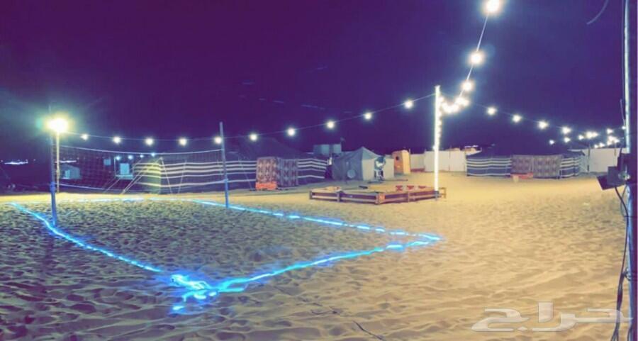 مخيم عطر المساء قسم شباب للايجار