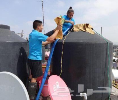 شركة غسيل فرشات كنب خزانات تنظيف شقق فلل خيم