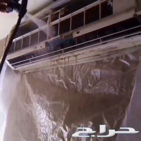 شركة تنظيف غسيل شقق فلل خزانات مجالس كنب خيام