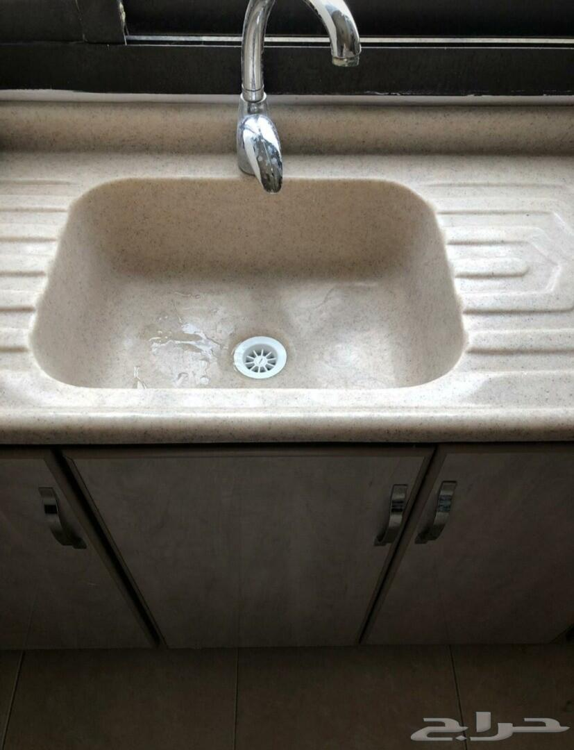 حوض غسل مطبخ مع الخزائن العدد2