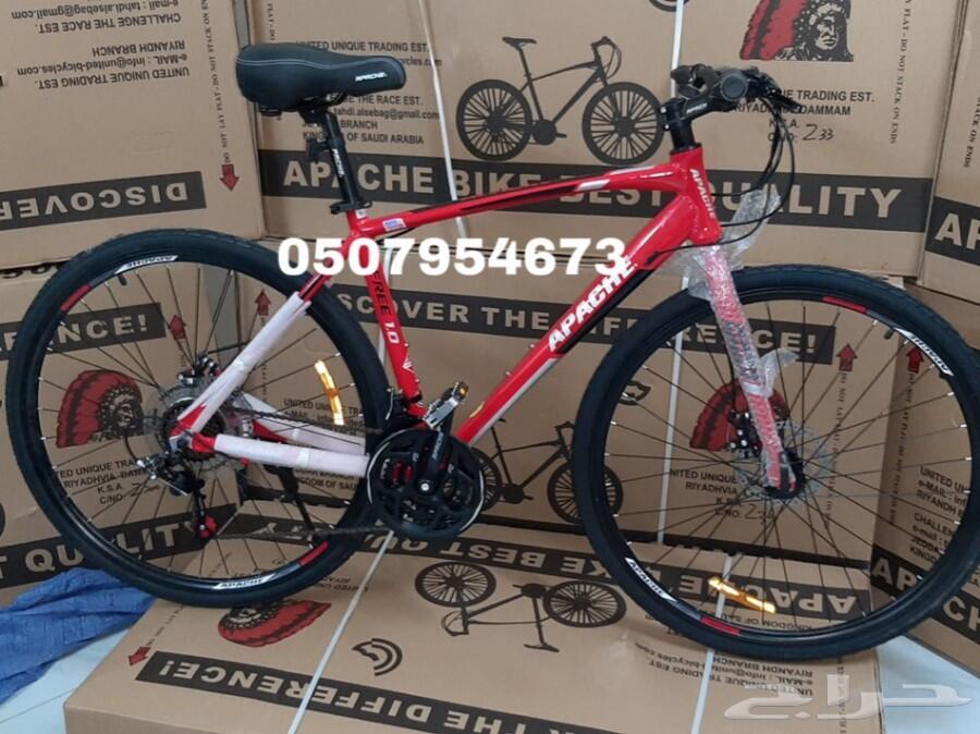 دراجة اباتشي هجين المنيو ( مع التوصل)