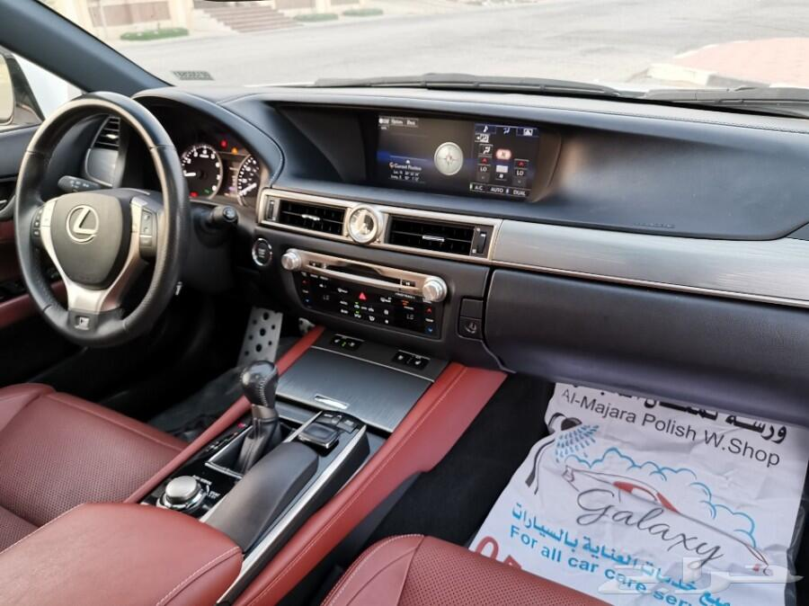 لكزس GS 350 اف سبورت موديل2015م(تم البيع)
