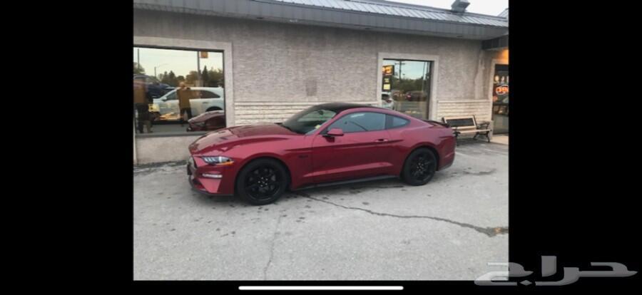 للبيع فورد موستنج GT بلاك ادشن موديل 2019