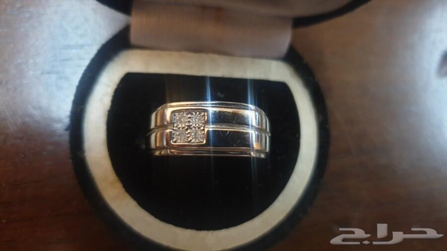 خاتم الماس رجالي