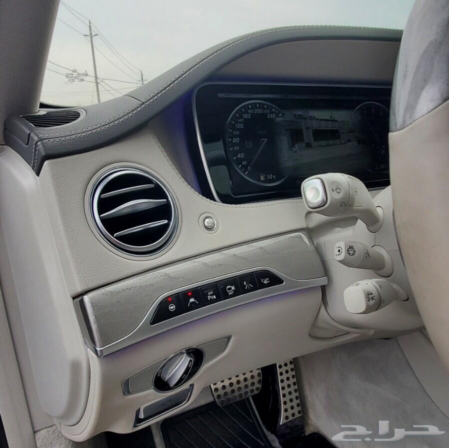 (تم البيع) 2017 مرسيدس S550 يخت متنقل