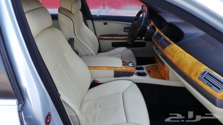 بي ام دبليو 750Li مخزن (تم البيع)