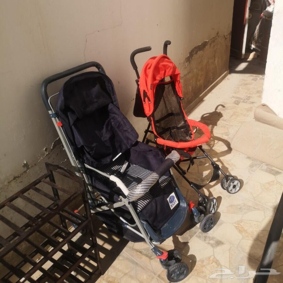 عربيات أطفال شبة جديد عدد2 وجزامة أحذية نظيفة