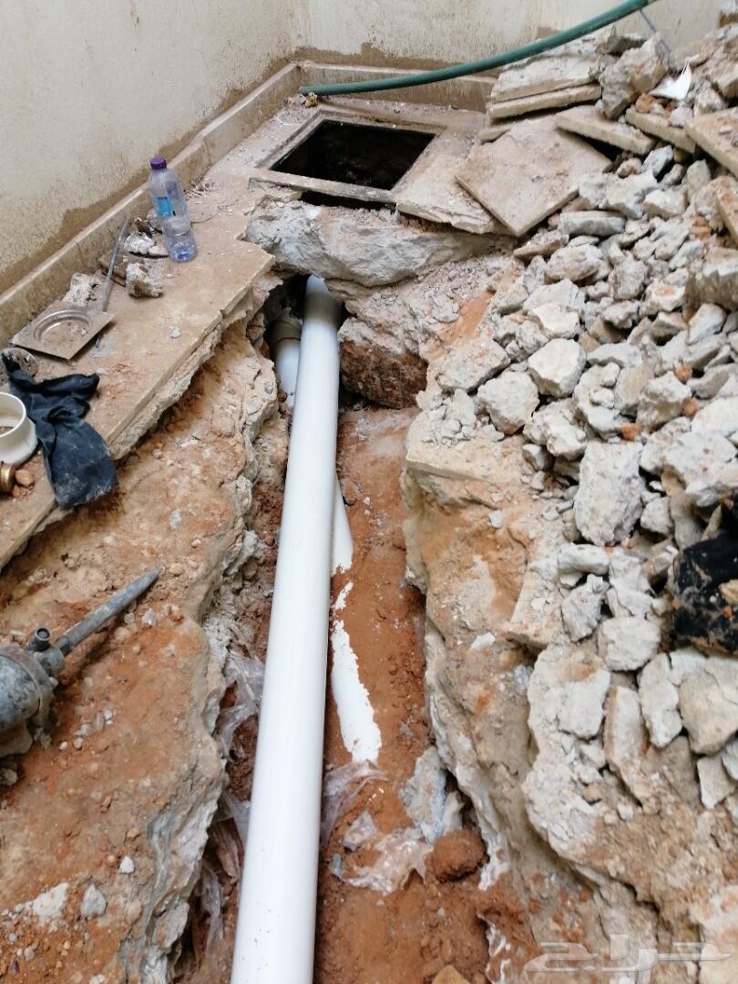 كشف تسربات المياه  بأحداث الاجهزه وعزل الاسطح
