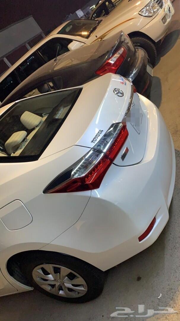 تم البيع) مجموعة سيارات كورولا اكسنت ا
